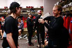 Blackhawks All-Access: Morning skate at MTL - 01/14/2016 - Chicago Blackhawks - Photos