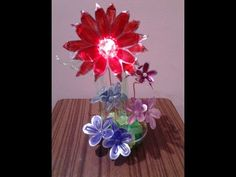 Best Out Of Waste Plastic Can transformed to Wonderful Showpiece with Candle holder - YouTube