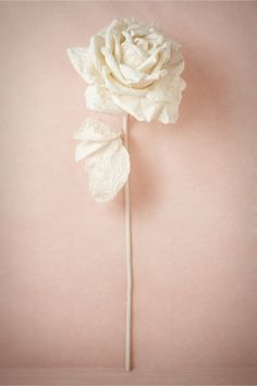NEW!- Larger-Than-Life Paper Rose from BHLDN
