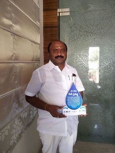 పరకాల శాసన సభ్యుడు శ్రీ చల్లా ధర్మా రెడ్డి గారు నేను సైతము అంటూ .., అయన తన నియోజక వర్గములో అన్ని పాఠశాలల పిల్లలచే ఈ నీటి పొదుపు ప్రతిజ్ఞ చూపిస్తానని ప్రతిన పునారు ..! Thanks to you Shri Challa Dharma Reddy Garu for your kind gesture and support for Walk for Water Event. Join Blue Revolution Club - Save Water - Take a Pledge Now http://www.walkforwater.in/blue-revolution-club/ COME AND JOIN US IN THE BIGGEST WALKATHON – 2016 March 22nd 2016 - World Water Day