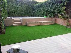 Jardin terminado en Conde Orgaz.