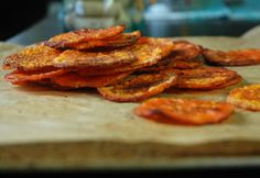 Butternut Squash Chips #chips #healthy #recipe