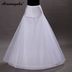 >> Click to Buy << 2017 Cheap A-line Petticoat Hot Sale Wedding Petticoat Bridal Accessories Underskirt Crinoline #Affiliate