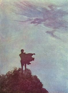 .:  Edmund Dulac  |  'At the end of the day, it isn't where I came from. Maybe home is somewhere I'm going and never have been before.'  - Warsan Shire  :.