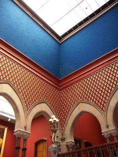 Philadelphia, PA Pennsylvania Academy of the Fine Arts interior