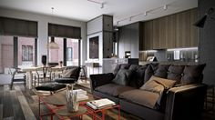Dark Neutrals and Clean Lines Unite Six Stylish Homes
