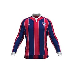 MLS FC Dallas Womens Original Striped Long Sleeve Cycling Jersey Large Blue ** Details can be found by clicking on the image.Note:It is affiliate link to Amazon.