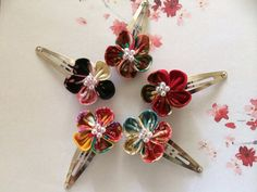Hey, I found this really awesome Etsy listing at https://www.etsy.com/listing/180338554/japanese-kanzashi-flower-hair-clip-snap