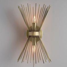 Starburst-Wall-Sconce-Mid-Century-Modern-2-light-Nightstand-Matt-Brass-Atomic