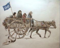 Métis Red River Cart