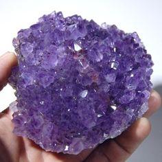 Amethyst Crystal Cluster ❦ CRYSTALS ❦ semi precious stones ❦ Kristall ❦ Minerals ❦ Cristales ❦