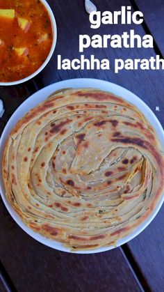 garlic paratha recipe, chilli garlic lachha paratha, lahsun ka paratha with step by step photo/video. flavored flat bread recipe with wheat, chilli, garlic. Spicy Recipes, Curry Recipes, Cooking Recipes, Healthy Recipes, Potato Recipes, Salad Recipes, Vegetarian Recipes, Paratha Recipes, Paneer Recipes