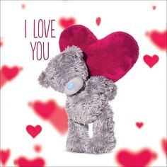 """I adore you, you crazy, gorgeous, wonderful (but also sometimes quite weird - but still very lovely) person! Tatty Teddy, Teddy Pictures, Cool Pictures, Valentine Picture, I Adore You, Awareness Ribbons, Cancer Awareness, Cute Bears, Very Lovely"