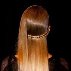 New York Fashion Week S/S 2013 Herve Leger. Hair by Bb. Stylist Laurent Philipon