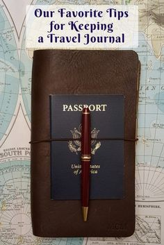 Our Favorite Tips for Keeping a Travel Journal - www.AFriendAfar.com - Traveler's Notebook