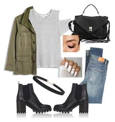 """""""Basic to the core"""" by bratzlover462 on Polyvore featuring LnA, Madewell, Barneys New York, Humble Chic, Rebecca Minkoff, Citizens of Humanity and Avon"""