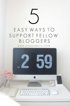 5 EASY WAYS TO SUPPORT FELLOW BLOGGERS