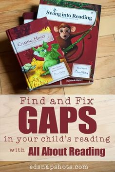Find and Fix the Gaps in Your Child's Reading with All About Reading | edsnapshots.com