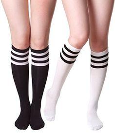 Piano Keys Unisex Casual Sports Socks Knee High Athletic Long Tube Stockings
