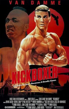 Kickboxer [1989] Yes I went back and watched the original one, I enjoy this one to date. This is obviously the movie that completely turned me off from dancing thanks to that famous Van Damme Scene. I firmly believe that TONG PO is one of the greatest villains in movie history. It's a must watch for any Generation X'r.