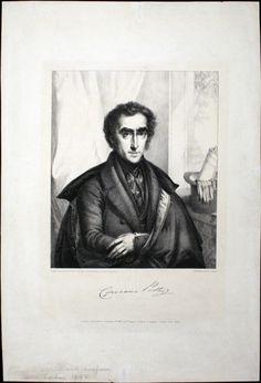 Cipriani Potter (1792-1871), lithograph (1838), by Siegfried Bendixen (1786-1864).