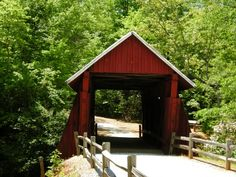 The Last Covered Bridge in South Carolina-Campbell's covered bridge. Upstate SC.