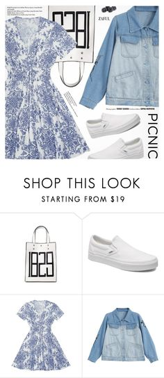 """Picnic in the Park"" by pokadoll ❤ liked on Polyvore featuring Vans"