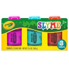 Get the Crayola® Slyme at Michaels. Get this slime pack from Crayola to enjoy fun play sessions with your kids. Slime Kit, Diy Slime, Crayola Toys, Mermaid Slime, Cute Headphones, Slime For Kids, Realistic Baby Dolls, Hanukkah Gifts, How To Make Slime