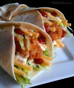 Słodka Strona: Domowe Snack Wrap jak z McDonald's