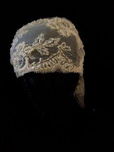 Edna 1920s Beaded Bandeau Headband Wedding Bridal by empireroom, $190.00