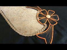 Hi Friends, Very Creative Salwars Mohri ka design / Designer poucha for bottom / Salwar bottom design stitching. New simple Salwar Mohri ka design for Punjab. Chudidhar Neck Designs, Churidhar Designs, Salwar Neck Designs, Kurta Neck Design, Neckline Designs, Blouse Neck Designs, Hand Designs, Patch Work Blouse Designs, Simple Blouse Designs