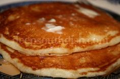 Deep South Dish: Homemade Buttermilk Pancakes
