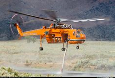 Erickson Air-Crane Sikorsky S-64E Skycrane N217AC / 737 (cn 64-064) HT-737 aka…