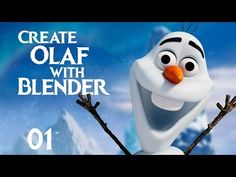 Blender Tutorial : How to Create Olaf from Frozen - 01 - YouTube