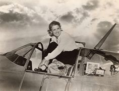At the time of her death in 1980, Jacqueline Cochran held more speed, altitude, and distance records than any other male or female pilot in aviation history... (Smithsonian National Air and Space Museum: Women in Aviaition and Space History)