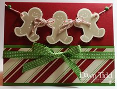 Gingerbread Men by marmie43gs - Cards and Paper Crafts at Splitcoaststampers