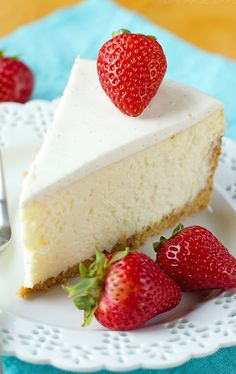 Perfect New York Cheesecake                                                                               More