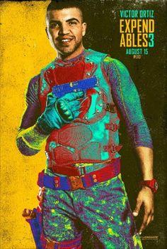 Os Mercenarios 3 Comic Con 2014 poster 10