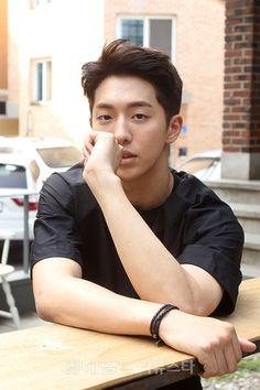 Nam Ju Hyuk an interview for magazine agains he is work hard Korean Star, Korean Men, Asian Men, Asian Guys, Park Hae Jin, Park Seo Joon, Jong Hyuk, Lee Jong Suk, Asian Actors