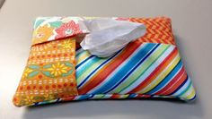 How to make a fun travel tissue carrier