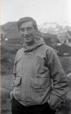 Jaap van Zuylen wearing a Greenland anorak