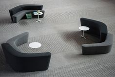 Modular upholstered bench / contemporary / fabric POLAR PERCH by Pearson Lloyd Tacchini