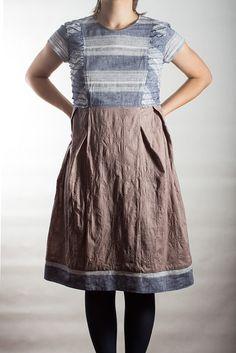 Cotton dress / Oksana Solovaya