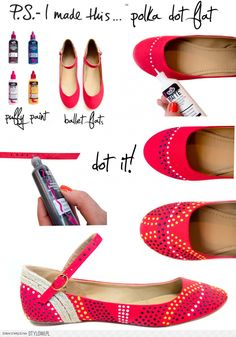 16 Best #DIY Fashion Ideas Ever - Great #tutorial on making these cute flats + 15 more big picture tutorials.