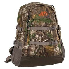 Alps Mountaineering Outdoor Z Crossbuck Pack Realtree Xtra Camo Hiking Bag, Hiking Backpack, Backpack Bags, Hunting Backpacks, Day Backpacks, Hunting Packs, Hiking Staff, Edc Bag, Tactical Backpack