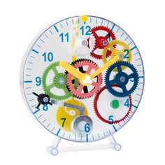 Transparente Uhr selbst zusammenbauen