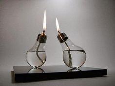Como Decorar a Casa Usando Lâmpadas Recicladas?