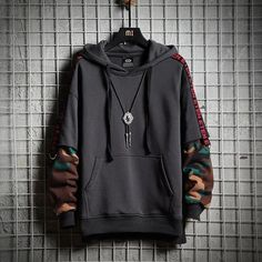 Black Cotton Hoodie will make you, satisfy and happy with its rapper look. This kind of Black Cotton Hoodie has chosen mostly by rap lovers. The greatest point is that feeling softness & quality by hoodies. Mode Kawaii, Cool Outfits, Fashion Outfits, Style Fashion, 50 Fashion, Cheap Fashion, Fashion Women, Casual Outfits, Stylish Hoodies