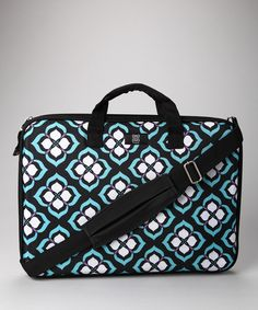 Chloe DAO for nuo laptop bag. Bold graphics are so chic.