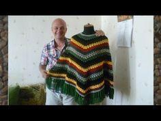 ПОНЧО ЭКСТРАВАГАНТНОЕ крючком. EXTRAVAGANT PONCHO crochet.  часть 2 - YouTube